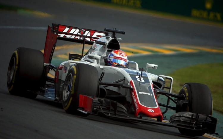 Romain Grosjean rumo ao sexto lugar no GP da Austrália (Jason Reed/Reuters)