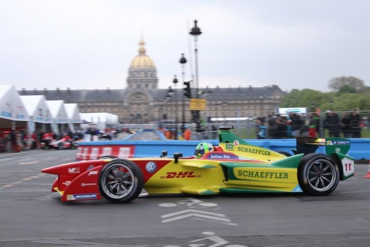 Lucas di Grassi, vencedor da etapa da F-E em Paris (ABT Schaeffler Audi Sport/Divulgação)