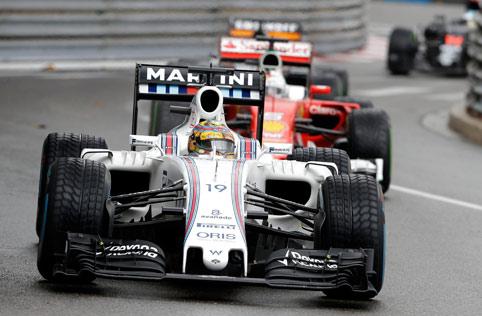 Felipe Massa, décimo colocado no GP de Mônaco; posição ajudou a sacramentar recorde negativo (Claude Paris/Associated Press)
