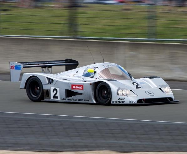 A Sauber- Mercedes usada no mundial de endurance por Michael Schumacher (@samhopwell/Instagram/Reprodução)