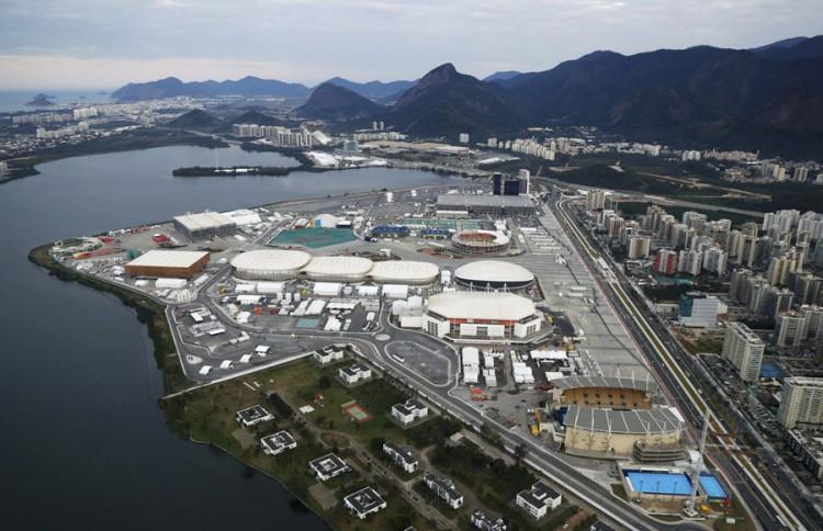 O Parque Olímpico da Barra, às vésperas dos Jogos (Wolfgang Rattay/Reuters)