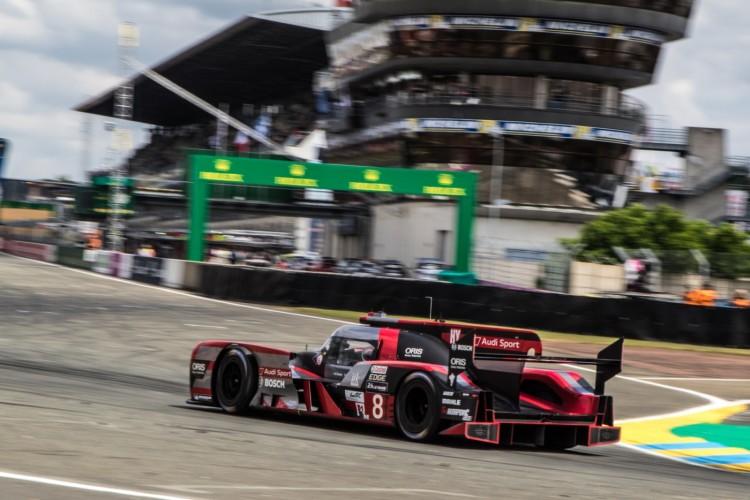 Protótipo da Audi nas 24 Horas de Le Mans de 2016 (FIA WEC/Divulgação)
