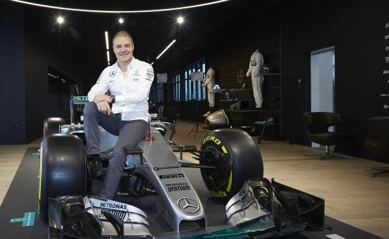Valtteri Bottas é apresentado oficialmente como piloto da Mercedes (Mercedes F1/Divulgação)
