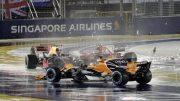 Grid: Ninguém reparou, mas Alonso teve motivos de sobra para se irritar com abandono em Cingapura